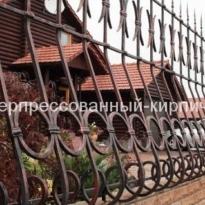 кирпич скала на забор
