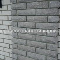 фигурный кирпич, лицевой, фасад дома